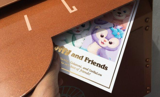 ディズニー旅行 ポストカード