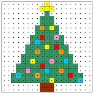 アイロンビーズで作るクリスマスオーナメント 〜 サンタ、トナカイからクリスマスツリーまで