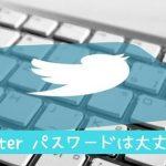 ツイッターパスワード変更方法は簡単、今すぐに!!