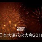 福岡【西日本大濠(おおほり)花火大会2018年】の日程やアクセス方法