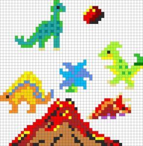 【無料図案】恐竜を好きな理由と人気のダイナソー14パターン