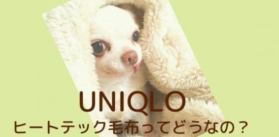 ユニクロ ヒートテック毛布